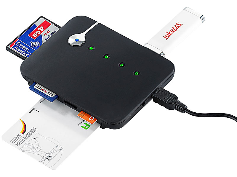 ; Card-Reader und USB-Sticks Card-Reader und USB-Sticks