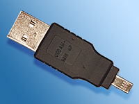 c-enter USB-Adapter-Stick A-Stecker/Mini 4-Pin