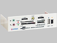 "c-enter Multipanel 5,25"" white m. Card-Reader/USB/TV-out usw"