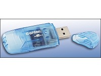 c-enter Micro Card Reader/Writer SD/MMC USB 2.0