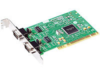 c-enter PCI-seriell-Adapter RS232 2-fach