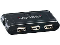 c-enter USB-Switch für 3 USB-Geräte an 2 PCs (refurbished)